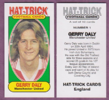 Manchester United Gerry Daly Eire 1